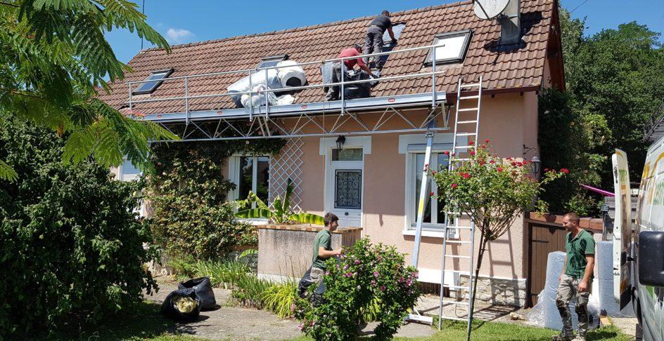 Isolation d'une toiture par l'extérieur - Isol'Centre