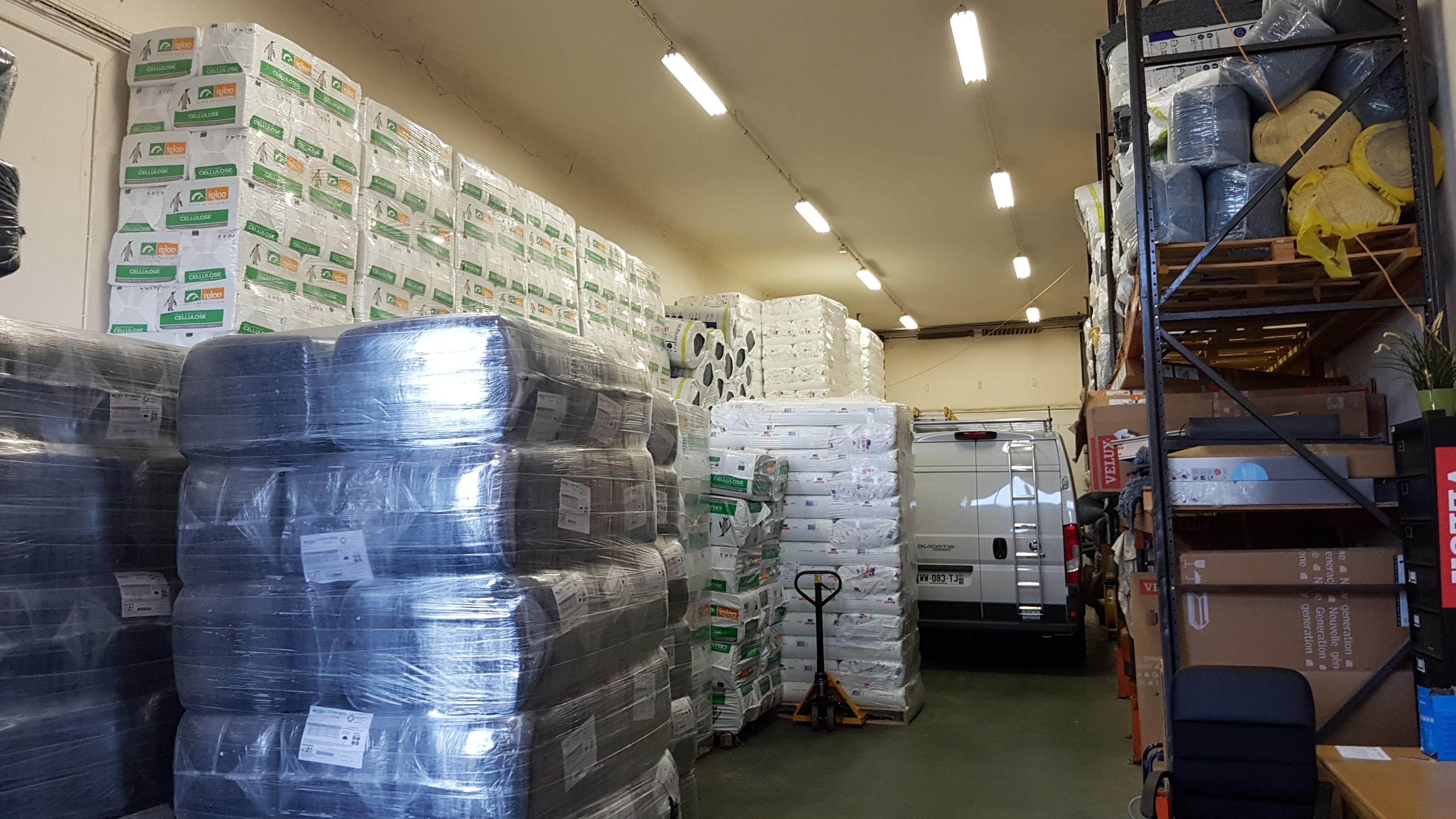 Locaux de stockage - Isol'Centre