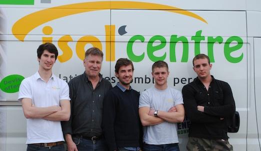 L'équipe Isol'Centre