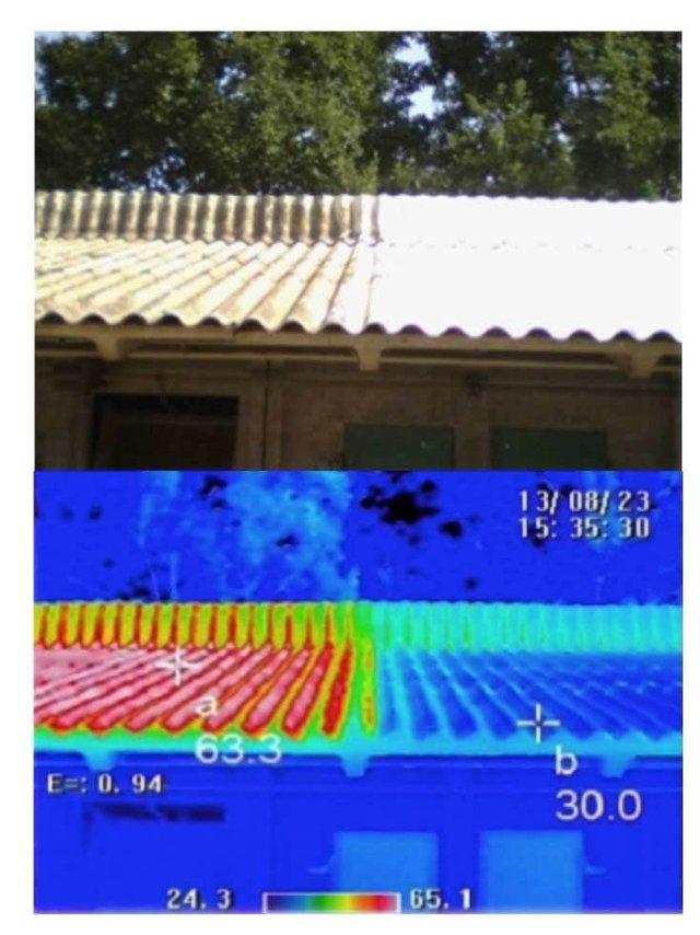 Analyse de la peinture thermique - Isol'Centre