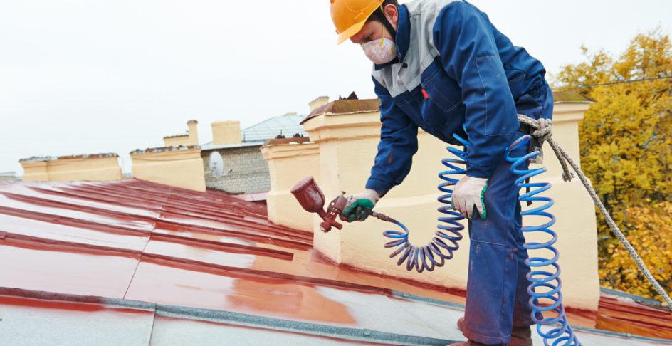 Isolation d'une toiture à la peinture thermique - Isol'Centre