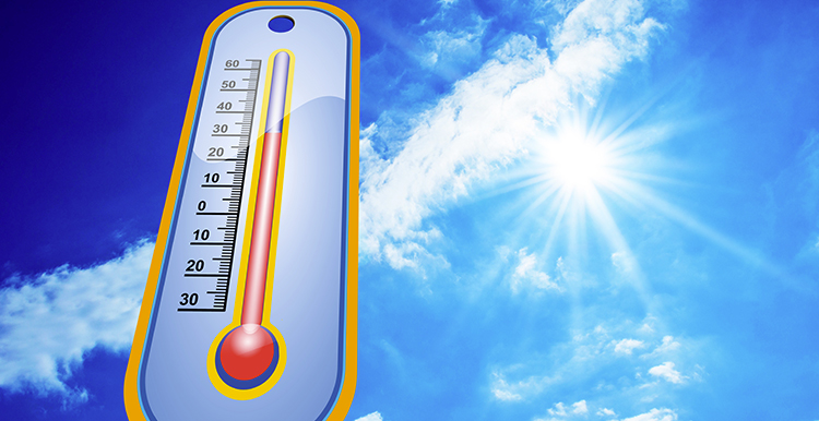 Thermomètre chaleur - Isol'centre
