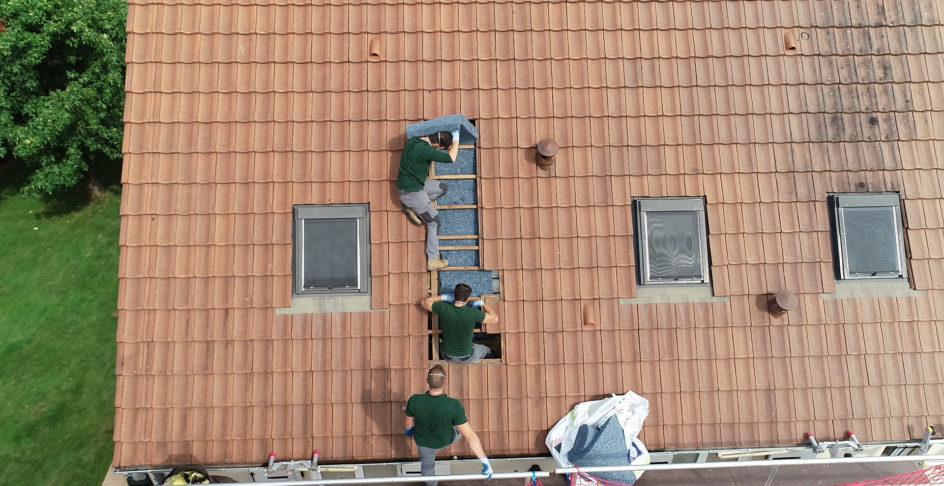 isolation extérieure toiture